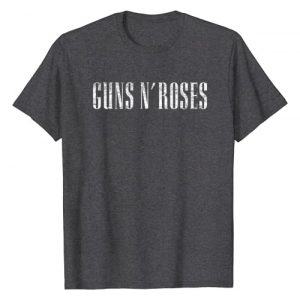 Guns N Roses Graphic Tshirt 1 Guns N' Roses Official Logo T-shirt T-Shirt