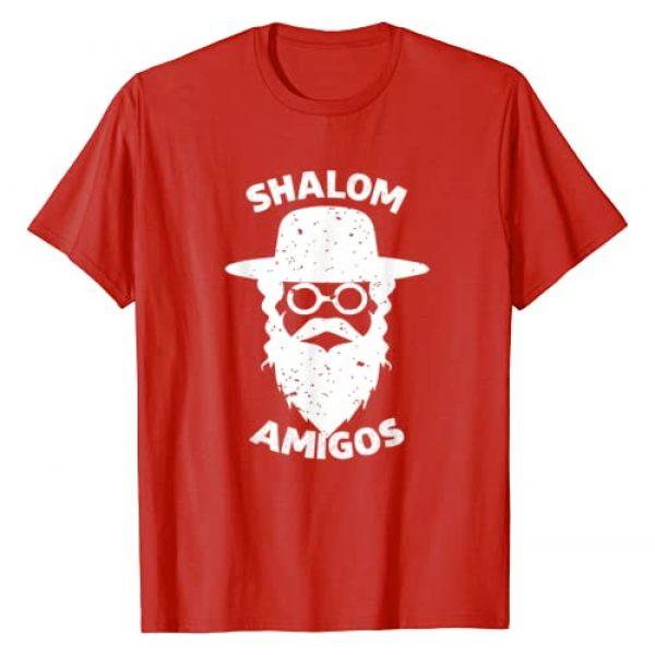 Shalom Rabin Hebrew Jewish Shirt Graphic Tshirt 1 SHALOM AMIGOS Hebrew Jewish Rabin Shirt T-Shirt