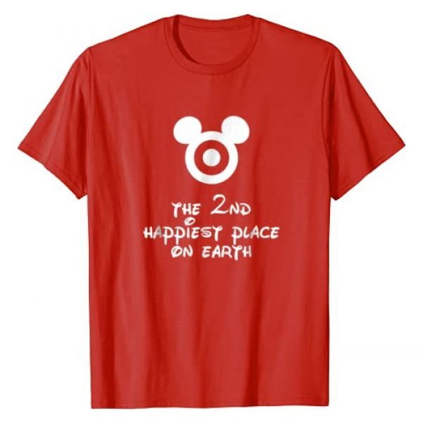 Cute Funny Mom Kids Tee Graphic Tshirt 1 The 2nd Happiest Place on Earth Cute Funny Kids Mom Shirt