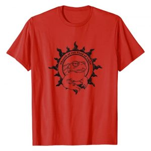 Church of the Toad of Light Graphic Tshirt 1 Authentic CHURCH OF THE TOAD OF LIGHT Psychedelic Frog Logo T-Shirt