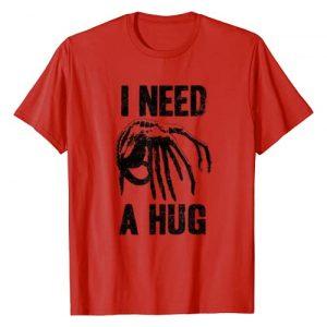 20th Century Fox Movies Graphic Tshirt 1 Alien Movie Need a Hug T-Shirt