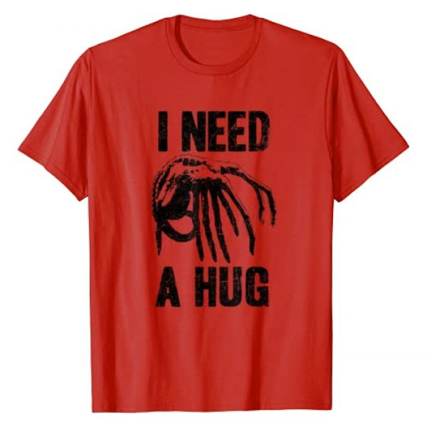 20th Century Fox Movies Graphic Tshirt 1 Alien Movie Need a Hug T-Shirt
