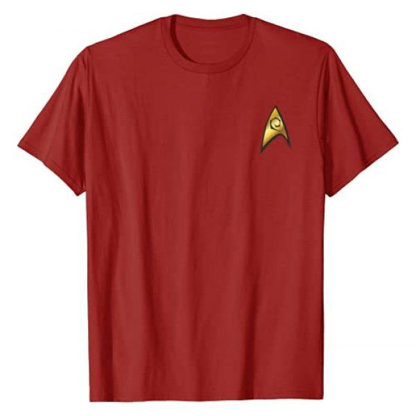 STAR TREK Graphic Tshirt 1 Original Series Engineering Badge Graphic T-Shirt