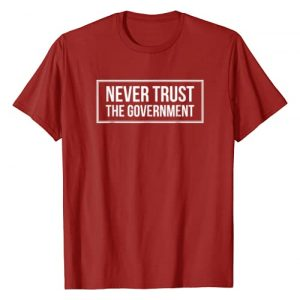 Anti Government Tees Graphic Tshirt 1 Never Trust The Government T-Shirt