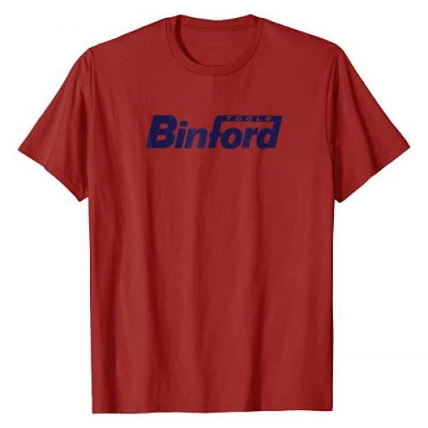 Home Improvement Graphic Tshirt 1 Binford Tools Logo T-shirt