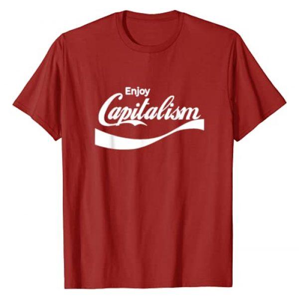 Enjoy Capitalism Money Shirts Graphic Tshirt 1 Enjoy Capitalism For American Entrepreneur Political Money T-Shirt