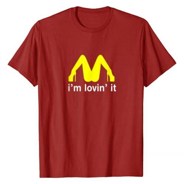 Funny Slogan Parody Tops Graphic Tshirt 1 I'm Lovin' It T-Shirt