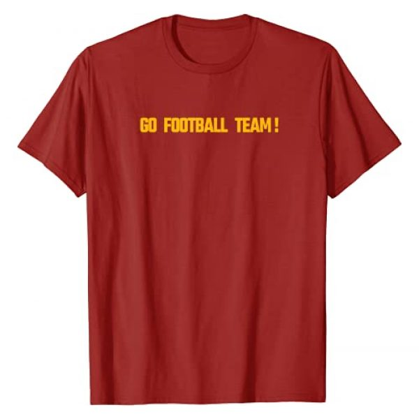 Gifts for men and women fans of washington Graphic Tshirt 1 Funny Go Washington Football Team Design T-Shirt