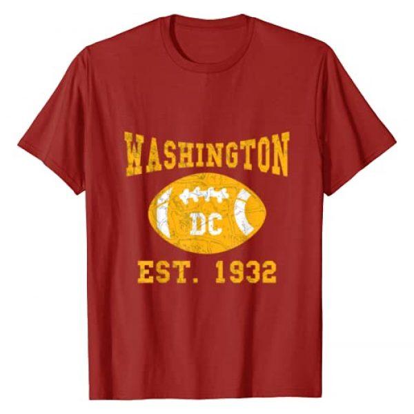 Washington DC Football Team Gifts Graphic Tshirt 1 Vintage Washington DC Football Gift Sports Team 1932 Novelty T-Shirt