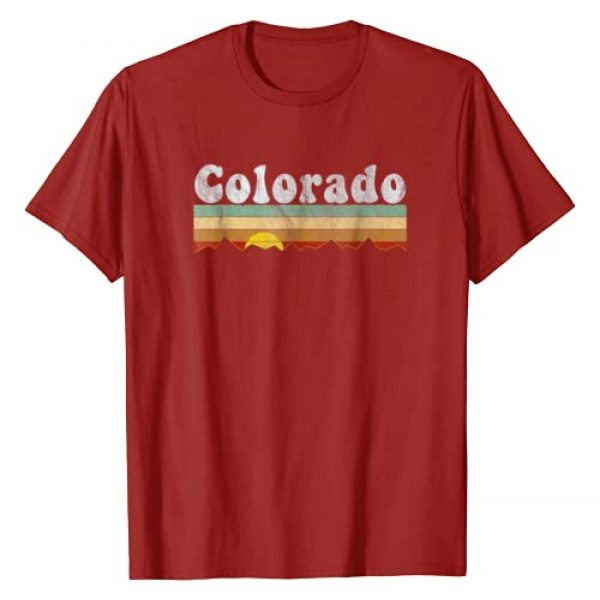 Vintage Grunge 1970s Colorado Tshirts Graphic Tshirt 1 Vintage Retro 70s Colorado T Shirt