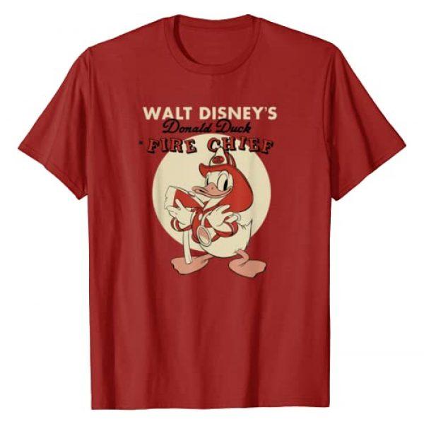 Disney Graphic Tshirt 1 Donald Duck Fire Chief T-Shirt