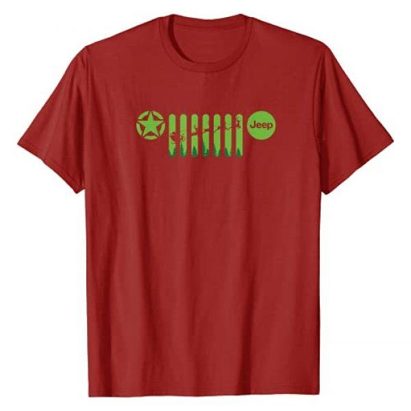 Jeep Graphic Tshirt 1 Santa Grille T-Shirt
