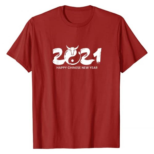 2021 Year of the Ox Shirts Graphic Tshirt 1 Chinese New Year   Zodiac Horoscope   2021 Year of the Ox T-Shirt