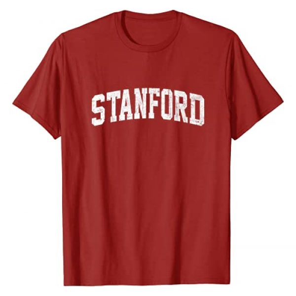Stanford California Vintage Shirts Graphic Tshirt 1 Stanford California CA vintage Athletic Style gift T-Shirt
