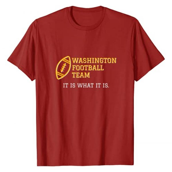 Funny Washington Football Name Graphic Tshirt 1 Change T-Shirt