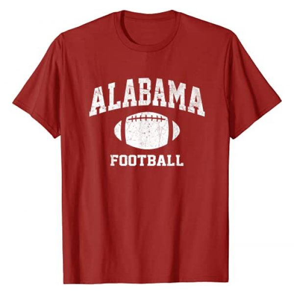 Tuscaloosa Alabama Football Fans Shirts Graphic Tshirt 1 Alabama Football - AL vintage Athletic style T-Shirt