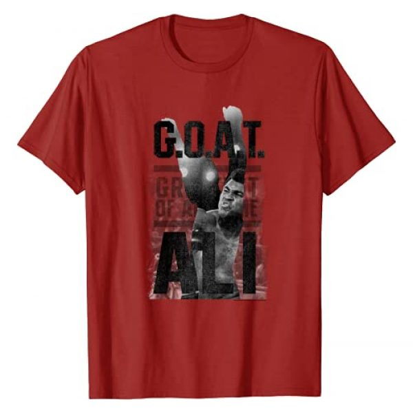 Muhammad Ali Graphic Tshirt 1 G.O.A.T T-shirt