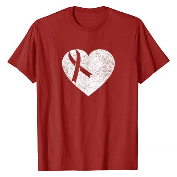 Go Red Day Shirts Graphic Tshirt 1 I wear Red to fight heart disease - American Heart month T-Shirt