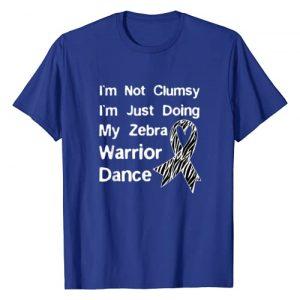 Ehlers Danlos Syndrome Clothing Graphic Tshirt 1 Ehlers Danlos Syndrome Shirt - Zebra Warrior Dance T-Shirt