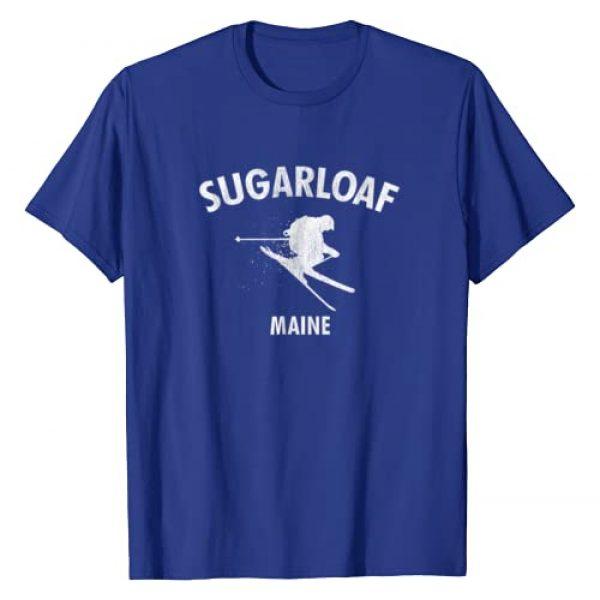 Sugarloaf Ski Shirts Graphic Tshirt 1 Sugarloaf Skiing T-Shirt Ski Maine Gift Tee