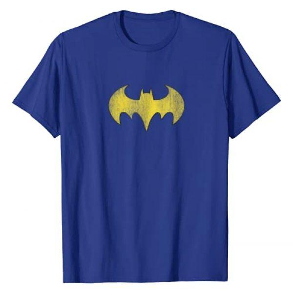 BATGIRL Graphic Tshirt 1 Logo Distressed Yellow Symbol T-Shirt