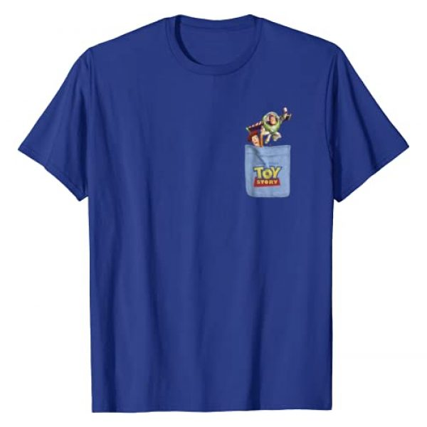 Disney Graphic Tshirt 1 Pixar Toy Story Buzz and Woody Pocket Graphic T-Shirt