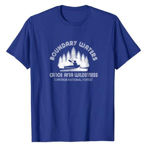 Vintage Minnesota State Shirt Graphic Tshirt 1 Boundary Waters T-Shirt Vintage Minnesota BWCA Shirt