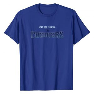 "Brandon Sanderson Graphic Tshirt 1 ""Ask Me About the Cosmere"" T-Shirt"