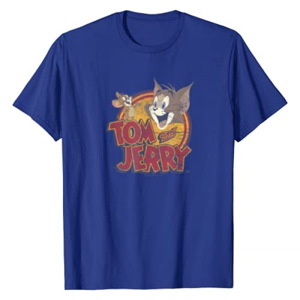 TOM and JERRY Graphic Tshirt 1 Water Damaged colors T-Shirt