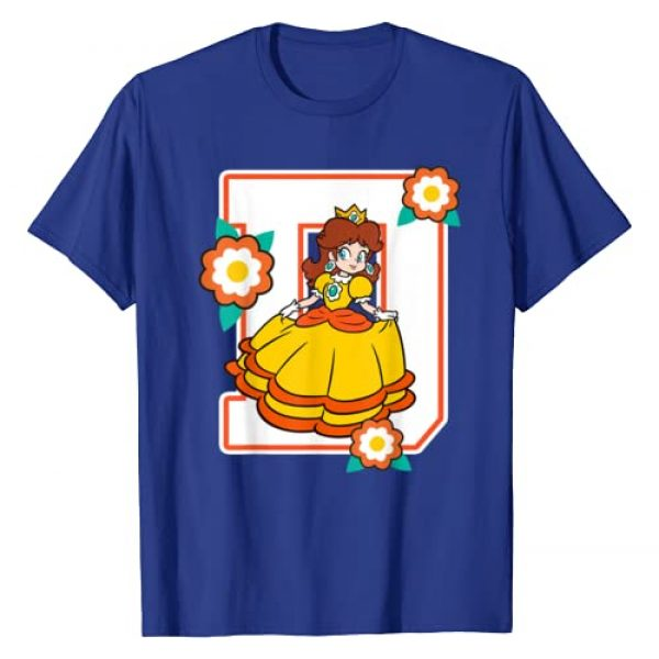 SUPER MARIO Graphic Tshirt 1 Daisy Flowers Poster Graphic T-Shirt