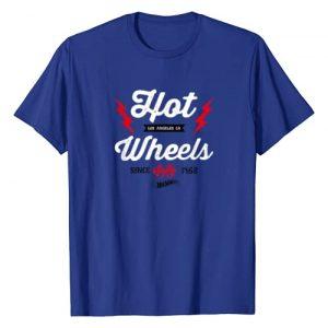 Hot Wheels Graphic Tshirt 1 Vintage Badge Flame T-Shirt