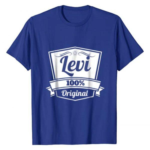 Levi Gift Idea Cool Tee Shirt Graphic Tshirt 1 Levi Gift Shirt / Levi Personalized Name Birthday TShirt