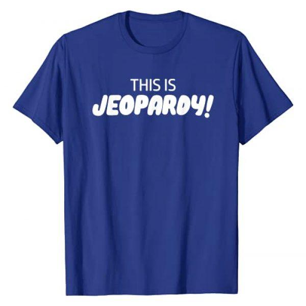 Jeopardy Blue Graphic Tshirt 1 Jeopardy Blue T-Shirt