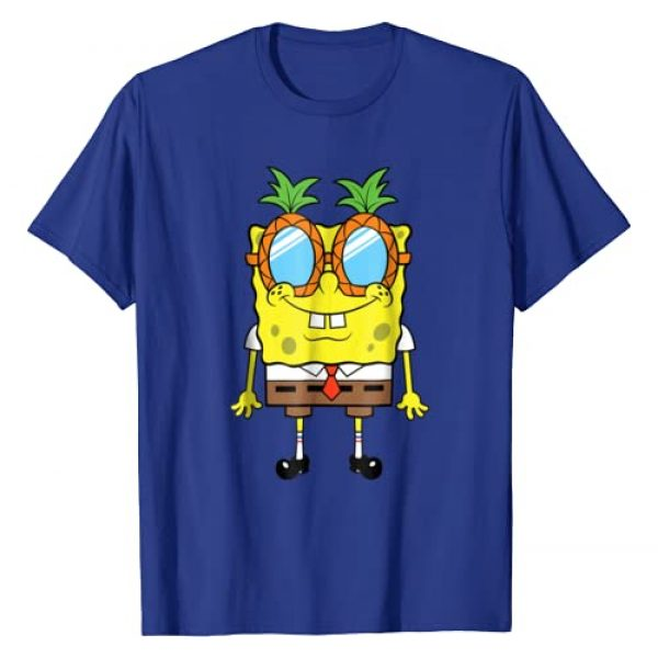 Nickelodeon Graphic Tshirt 1 Spongebob Squarepants Pineapple Glasses T-Shirt