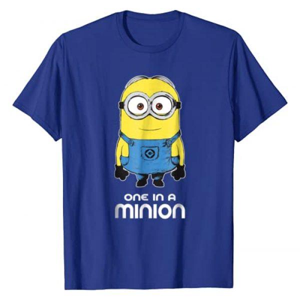 Despicable Me Graphic Tshirt 1 Minions Bob One In A Minion Graphic T-Shirt
