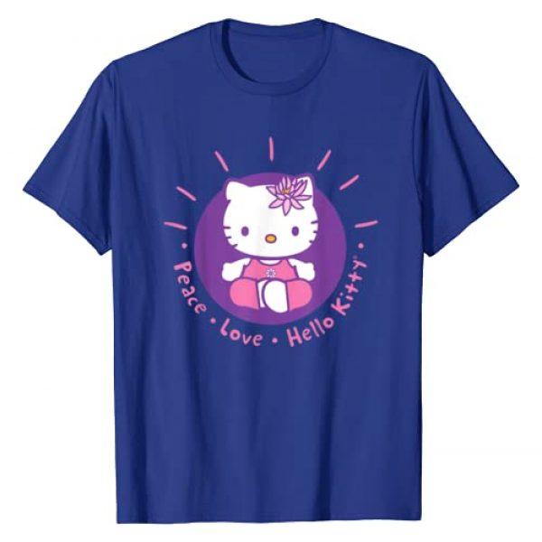 Hello Kitty Graphic Tshirt 1 Yoga Peace Love Lotus Meditation T-Shirt