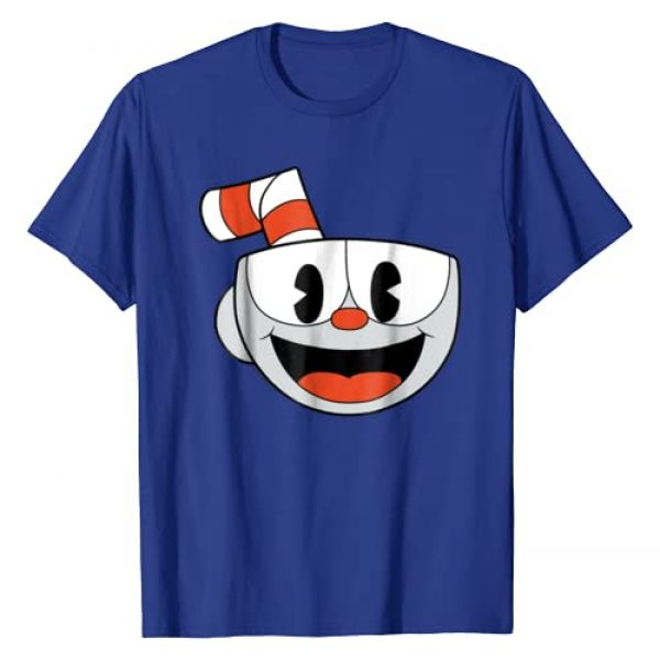 Cuphead Graphic Tshirt 1 Big Smiling Face Video Game Graphic T-Shirt