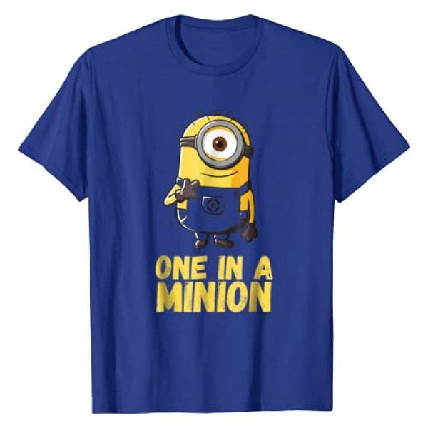 Despicable Me Graphic Tshirt 1 Minions One In A Minion Graphic T-Shirt