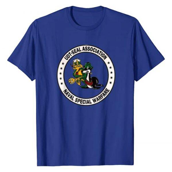 U.S. Navy Graphic Tshirt 1 SEAL Shirt ORIGINAL UDT Association Logo Tshirt