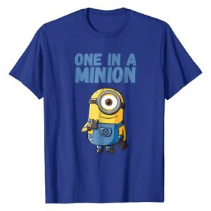 Despicable Me Graphic Tshirt 1 Minions Stuart One In A Minion Graphic T-Shirt