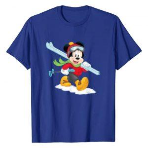 Disney Graphic Tshirt 1 Mickey Mouse Winter Ski Adventure T-Shirt
