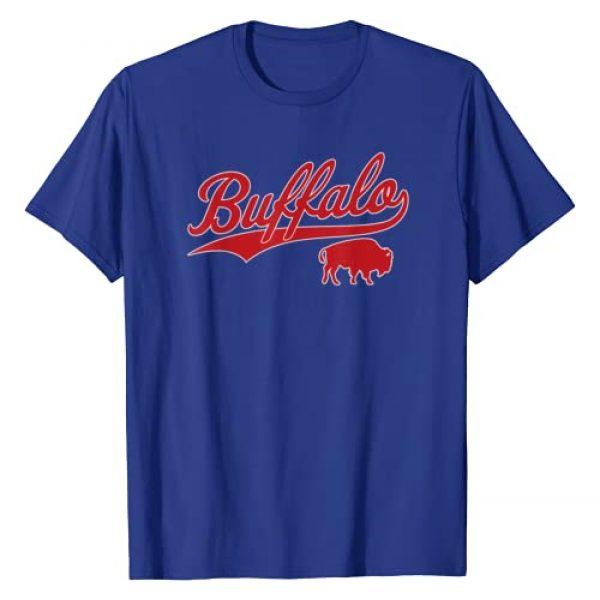Buffalo Football Apparel Gifts Co. Graphic Tshirt 1 Vintage Buffalo Football New York NY Sports Gift T-Shirt