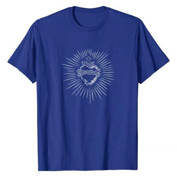 FAITHFUL CATHOLIC Graphic Tshirt 1 Sacred Heart Of Jesus Catholic T-Shirt