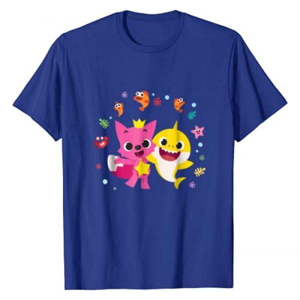 Pinkfong Graphic Tshirt 1 and Baby Shark T-shirt