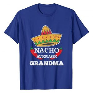BCC Nacho Average Family Matching Shirts & Gifts Graphic Tshirt 1 Nacho Average Grandma T-Shirt   Funny Cinco De Mayo Tee Gift