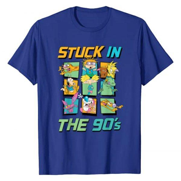 Nickelodeon Graphic Tshirt 1 Stuck In The 90s T-Shirt