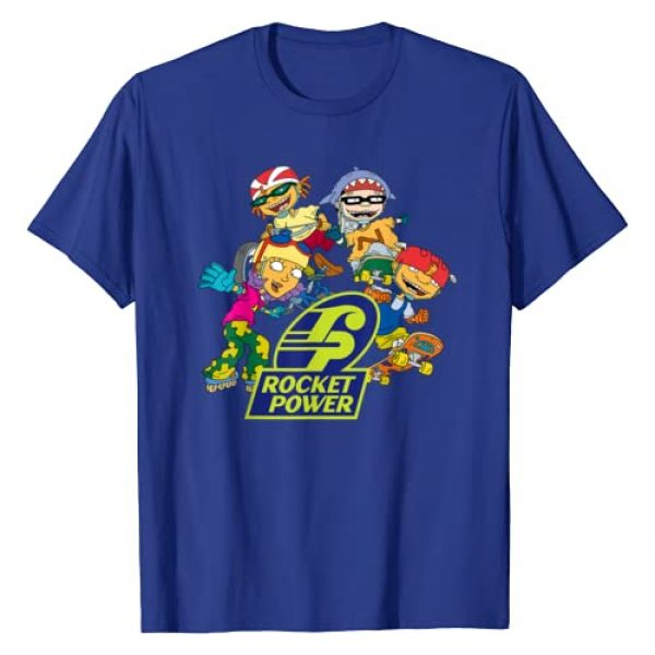 Nickelodeon Graphic Tshirt 1 Rocket Power Character T-Shirt