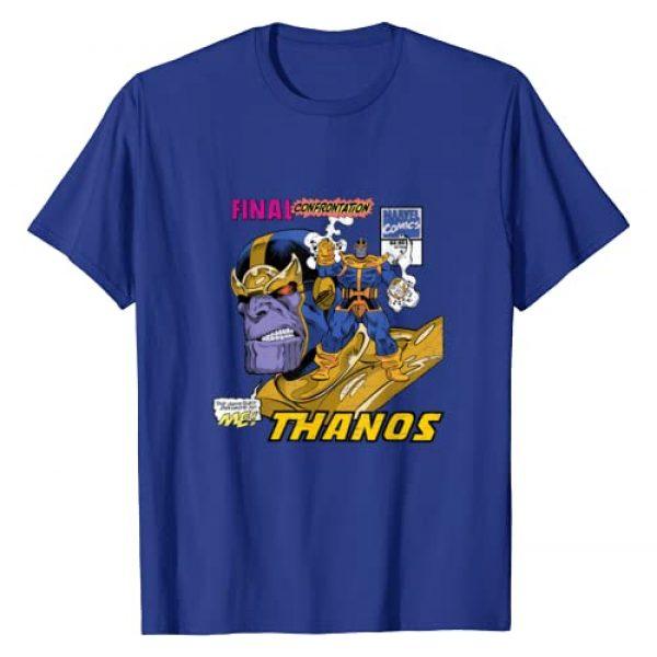 Marvel Graphic Tshirt 1 Comics Thanos Final Confrontation T-Shirt