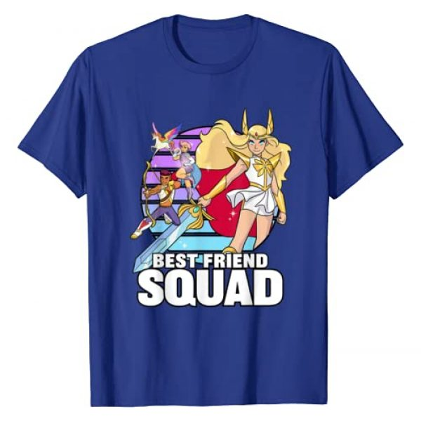 DreamWorks She-Ra And The Princess of Power Graphic Tshirt 1 She-Ra And The Princess of Power Best Friend Squad T-shirt