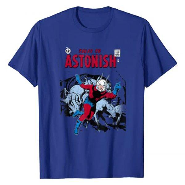 Marvel Graphic Tshirt 1 Ant-Man Classic Retro Comic Cover Graphic T-Shirt